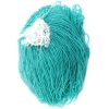 Seedbead 10/0 Crystal Teal Green Strung - Solgel